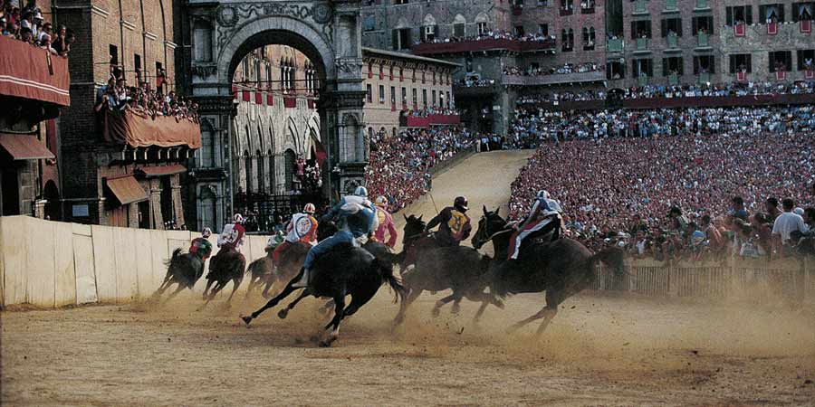 Siena,  city of Palio