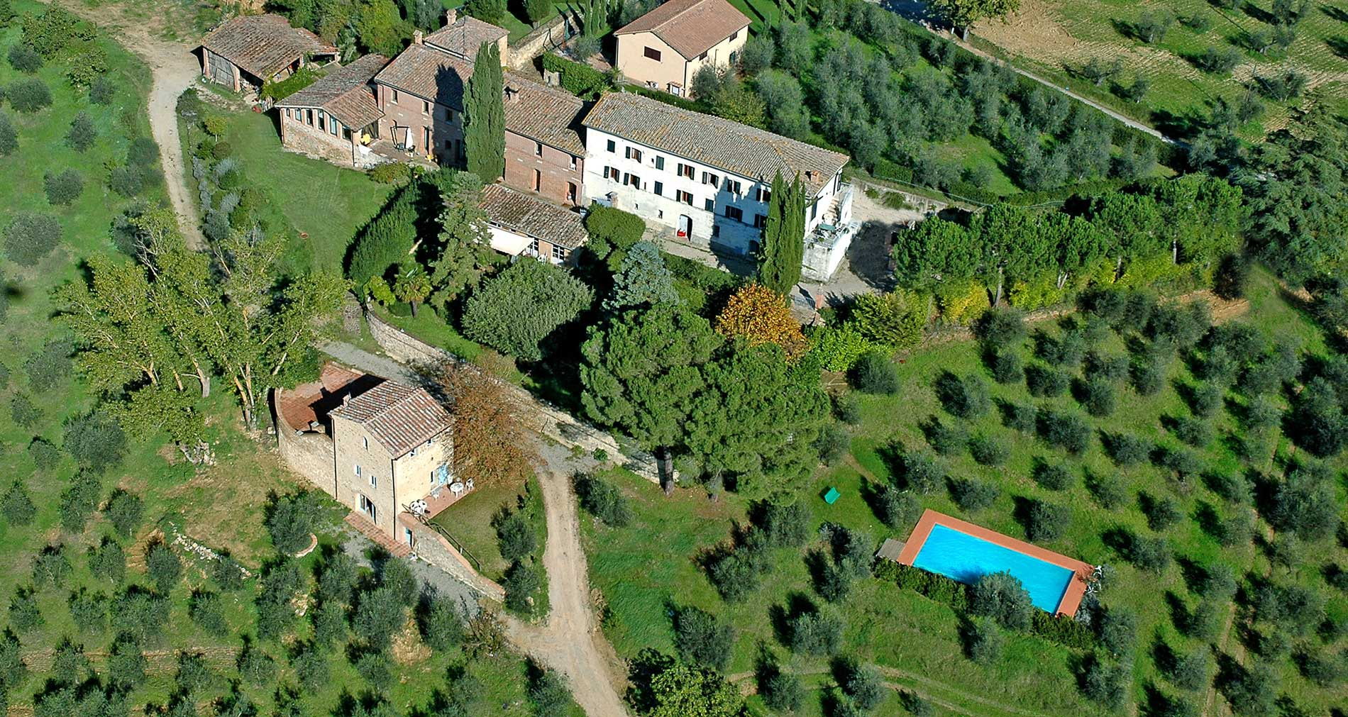 Villa con piscina a Siena
